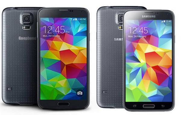 Goophone S5 : le Samsung Galaxy S5 a déjà son clone