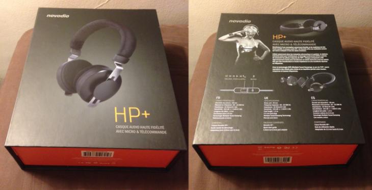 Test :  Casque Novodio HP+ avec micro et télécommande