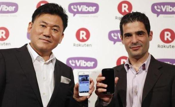 Viber racheté 900 millions de dollars par le japonais Rakuten