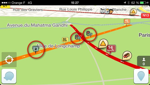 tutoriel r activer les alertes radars sur waze. Black Bedroom Furniture Sets. Home Design Ideas