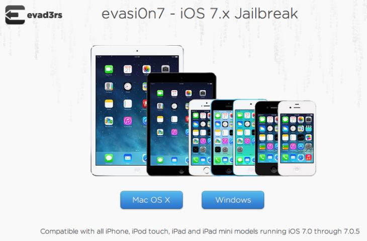 Jailbreak iOS 7 : Evasi0n 7 1.0.5 compatible avec iOS 7.0.5