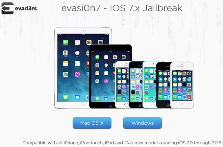 Jailbreak iOS 7 : Evasi0n 7 1.0.6 compatible avec iOS 7.0.6