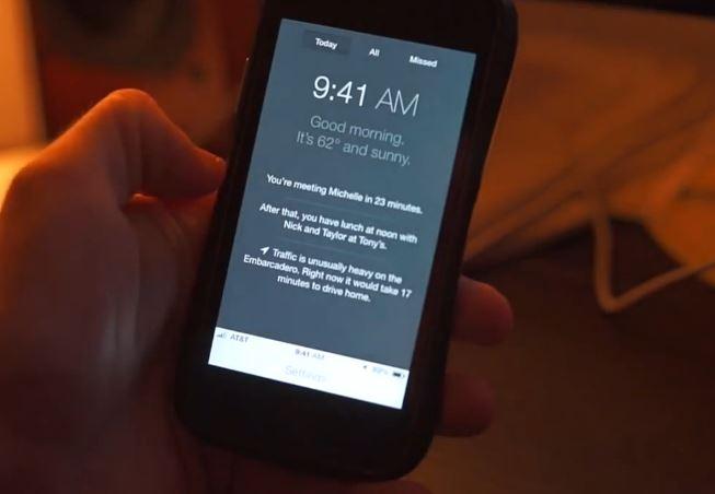 iOS 8 : concept de centre de contrôle et de multitâche