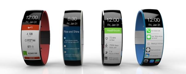 iWatch : nouveau concept avec affichage vertical