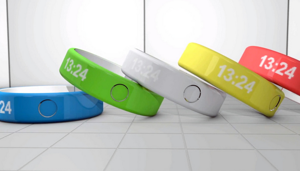 iWatch : nouveau concept iBand au style iPhone 5C