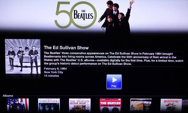 Apple TV : nouvelle chaîne dédiée aux Beatles