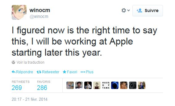 Jailbreak : Apple embauche le hacker Winocm