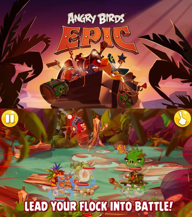 Angry Birds Epic : le futur jeu de rôle de Rovio