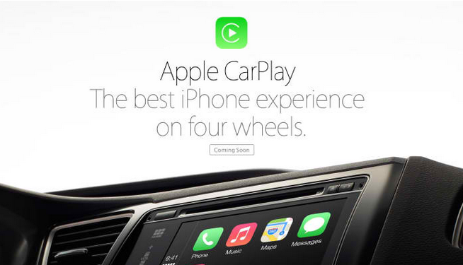 Apple annonce CarPlay, son fameux iOS in the Car
