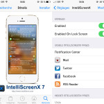 Cydia iOS 7 : le tweak IntelliScreenX 7 est disponible