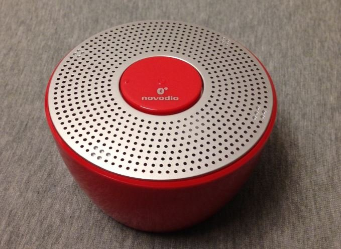 Test : Enceinte Novodio Shower Bluetooth waterproof rouge