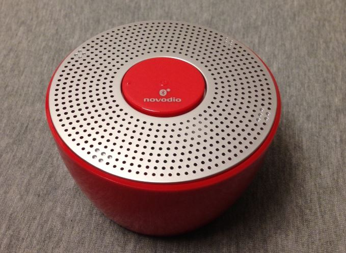 Test : Enceinte Novodio Shower Bluetooth waterproof rouge