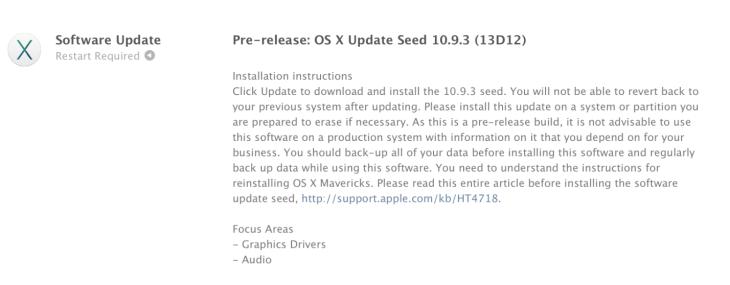 OS X 10.9.3 Mavericks bêta 1 : optimisation des écrans 4K