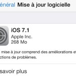 iOS 7.1 disponible sur iPhone, iPad, iPod Touch