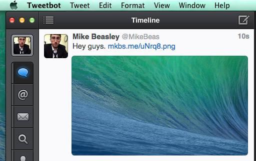 Tweetbot Mac : grands aperçus d'images et corrections de bugs