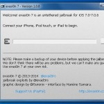 Jailbreak iOS 7 : Evasi0n 7 1.0.8 supporte iOS 7.0 build 11A466