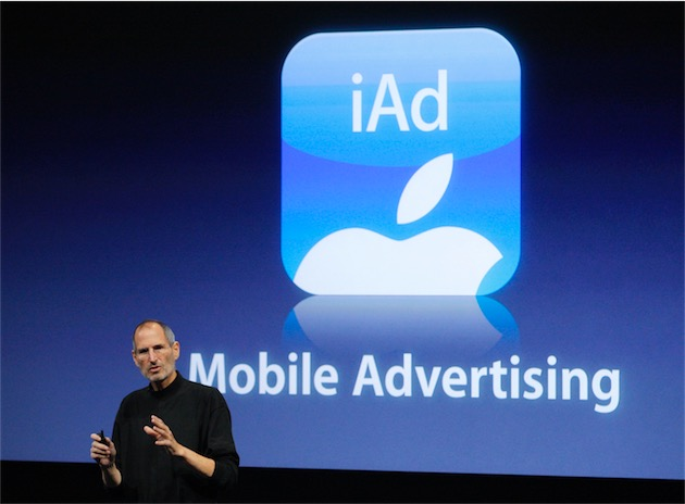 iAd : Apple proposera des vidéos publicitaires en plein écran