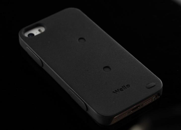 Wello : une nouvelle coque iPhone 5/5S dédiée à la santé