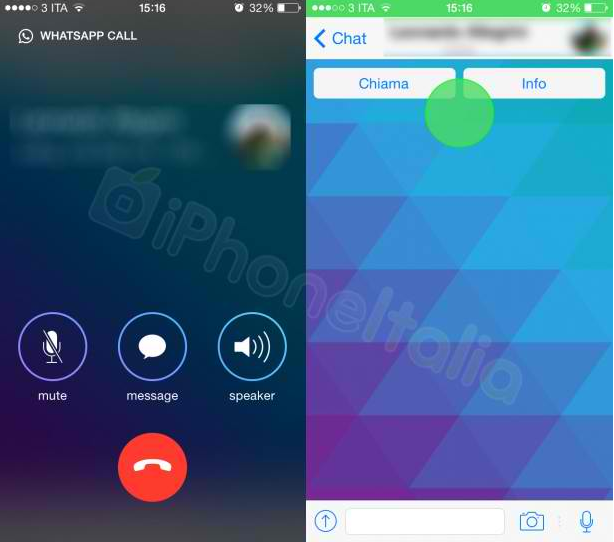 WhatsApp : captures d'écran des futurs appels gratuits ?