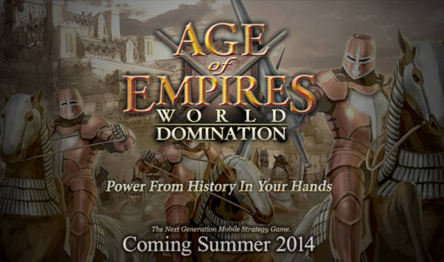 Age Of Empires : World Domination sur iPhone & iPad cet été