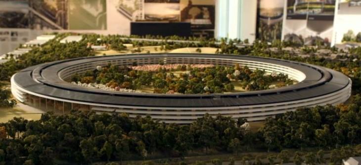 Apple : une nouvelle vidéo du Campus 2