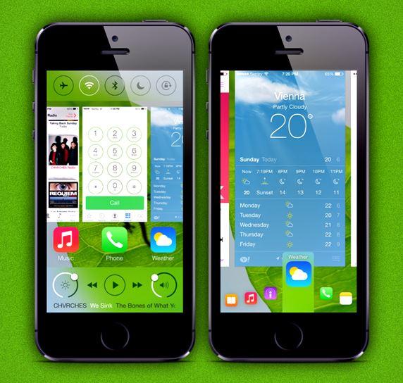 Cydia : le tweak Auxo 2 réinvente le multitâche iOS 7
