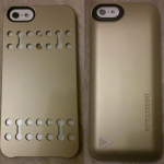 Test : Coque batterie iPhone 5/5S BoostCase Hybrid Champagne