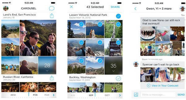 Dropbox annonce l'application photo Carousel & Mailbox pour OS X