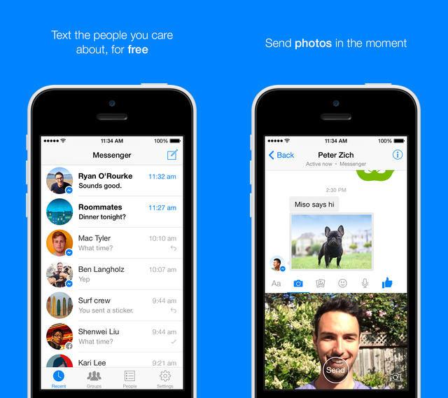 Facebook : Messenger ajoute l'envoi de vidéos en version 6.0