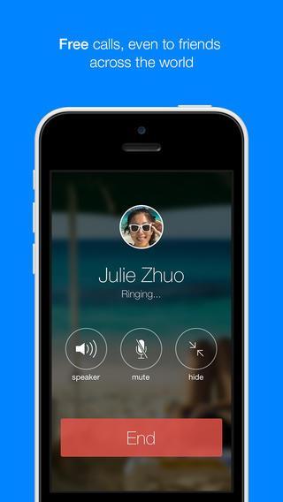 Facebook Messenger : ajout des appels gratuits