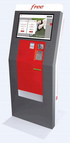 Free annonce un borne de distribution de cartes SIM