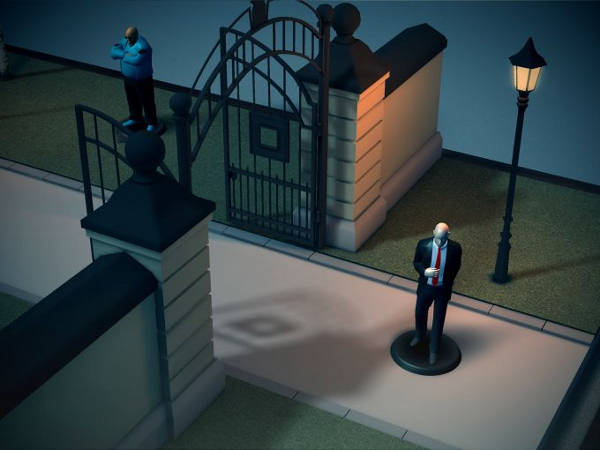 Hitman GO disponible sur iPhone et iPad