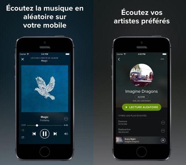 Spotify fait peau neuve avant le lancement d'iTunes Radio