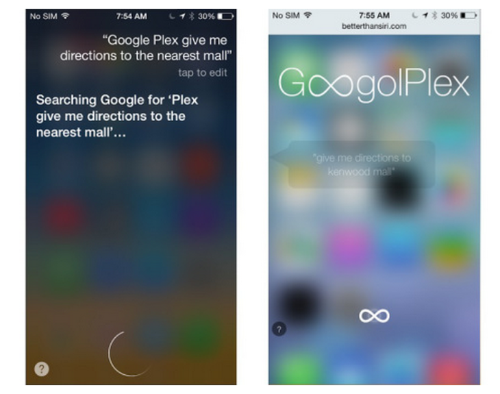 GoogolPlex : contrôler Google Maps et Spotify avec Siri