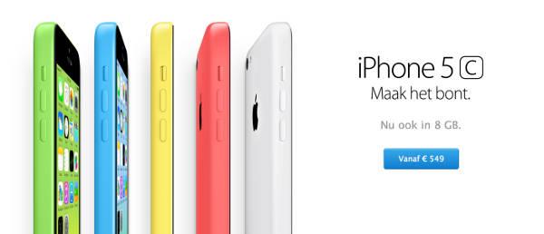 iPhone 5C 8 Go : disponible dans de nouveaux pays d'Europe