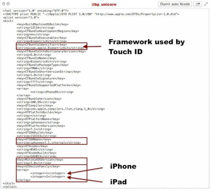 iOS 7.1 : le Touch ID sur le prochain iPad ?