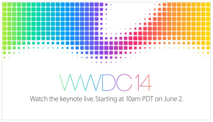 Apple : la Keynote WWDC 2014 à suivre en direct live !
