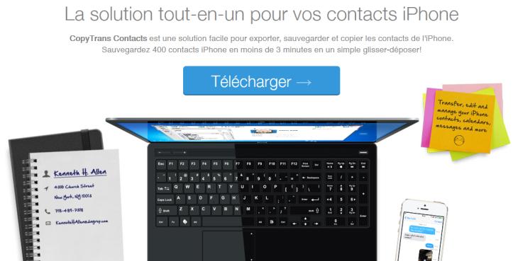 Sauvegarder les SMS iPhone sur son PC