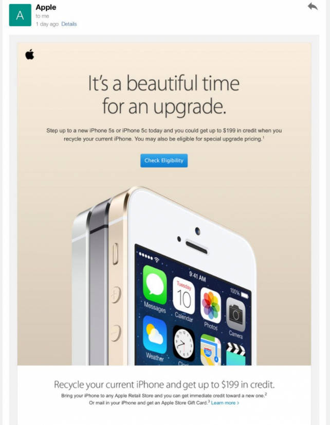 Apple Store : offre de reprise des iPhone 4 et iPhone 4S aux USA