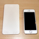 iPhone 6 : maquette de 5,5 pouces comparée à l'iPhone 5S