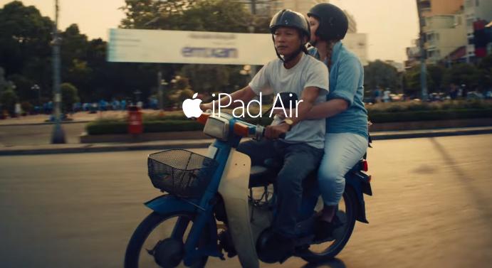 """iPad Air :  2 nouvelles pubs Apple dans la campagne """"Your Verse"""""""