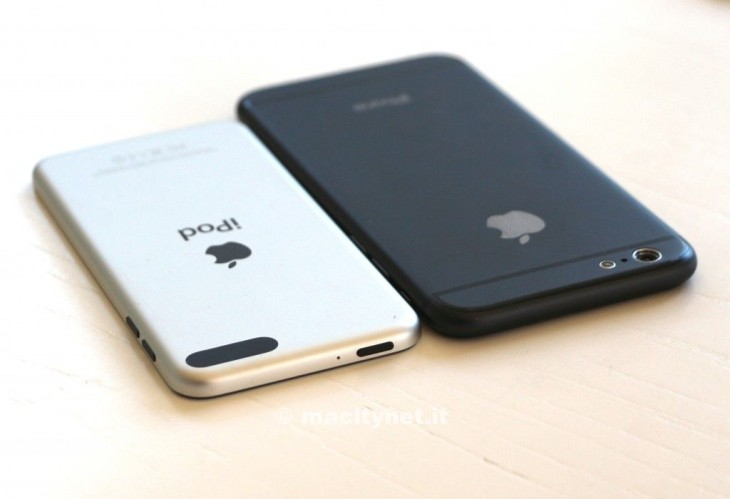 iPhone 6 : une maquette comparée à l'iPod Touch 5G
