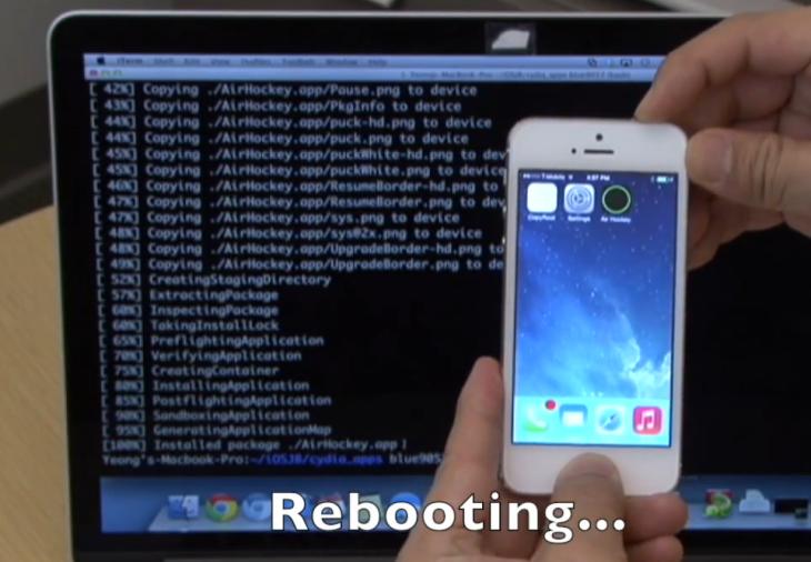 Jailbreak iPhone 5S : troisième exploit sous iOS 7.1.1 (vidéo)