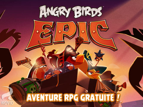 Angry Birds Epic : disponible sur l'App Store