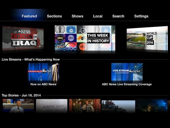 Apple TV : ajout des chaînes ABC News et AOL On