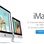 Apple propose un nouvel iMac à 1099 €
