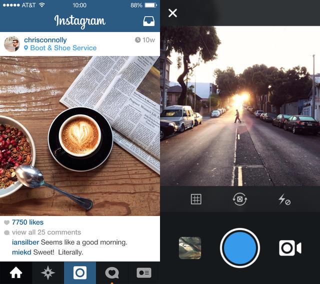 Instagram : ajout de 10 outils de retouche photos
