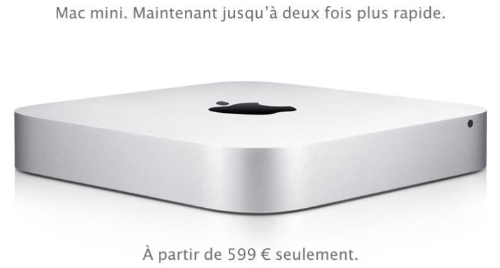 Apple : baisse des prix de l'Apple TV et des Mac Mini