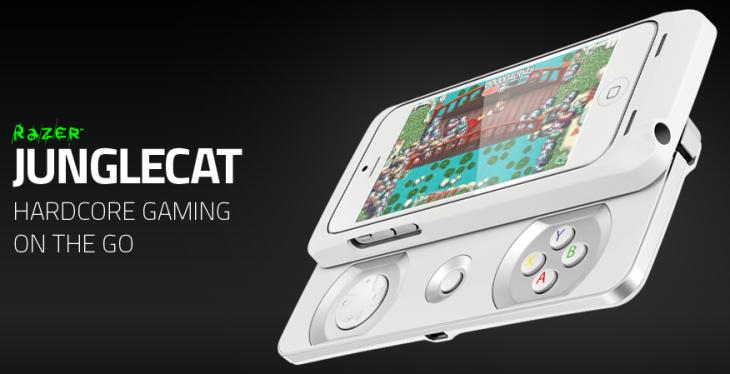 Razer : Junglecat, la manette iPhone coulissante