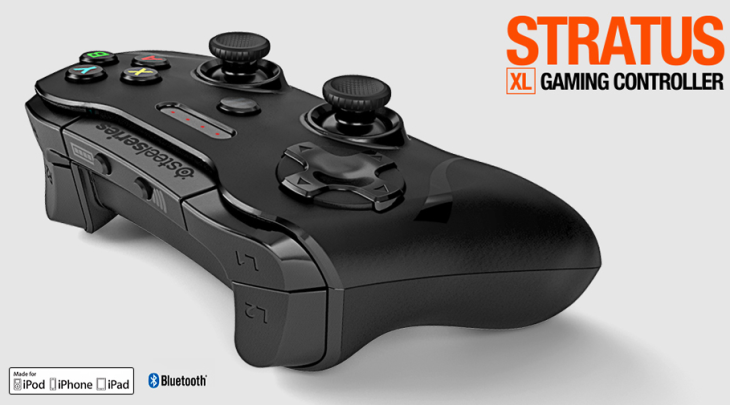 Stratus XL : la nouvelle manette iPhone & iPad de Steelseries